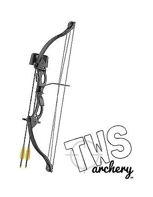 Kirupira 20lb Compound Bow And Arrow Package, Suits Children, Kids & Youth