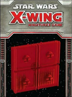 Fantasy Flight Games Star Wars - X-Wing Bases & Pegs (Red)