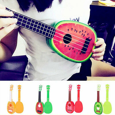 Children Musical Guitar ukulele Instrument Toy Kids Educational Gift Cute Fruit