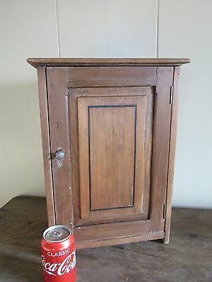 Antique edwardian housekeepers cupboard apprentice piece,