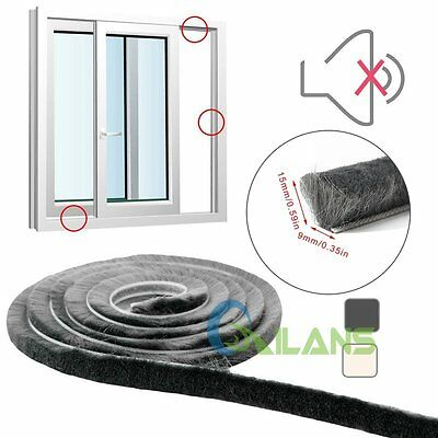 5M Sliding Doors Window Frame Draught Excluder Insulation Sealing Weather Strip
