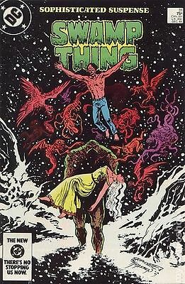 Swamp Thing (1982 2nd Series) #31 VG LOW GRADE
