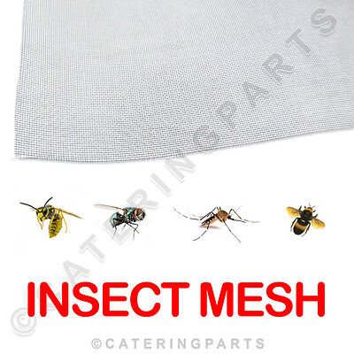 PVC COATED FLEXIBLE INSECT MESH FLY SCREEN 1.2M x 1M, 2M OR 3M FOOD HYGIENE