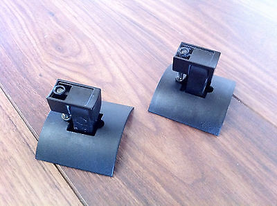 2 X Genuine Bose Ub20 Black Cube Lifestyle Acoustimass Speaker Wall Brackets