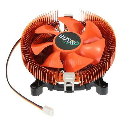 Aluminum CPU Cooler Fan Heatsink For Intel LGA775 1156