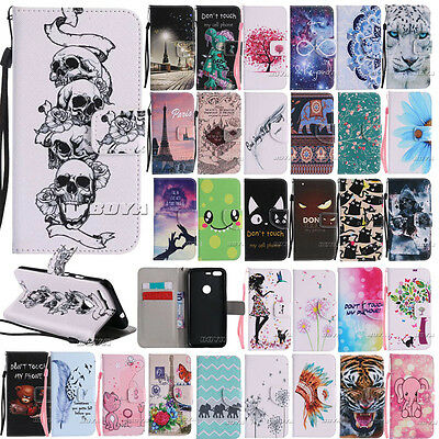 Pu leather stylish patterns wallet folio case for Google Pixel/XL Phone Cover