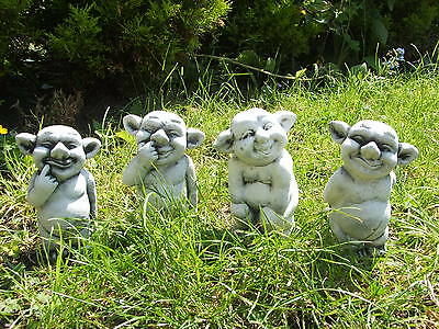 Latex Mould/moulds/mold. Set Of 4 X Cute Gargoyles