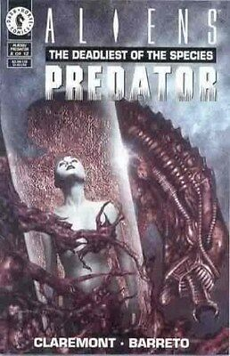 "Comic Dark Horse ""Aliens vs Predator: The Deadliest of the Species'' #6 1994 NM"