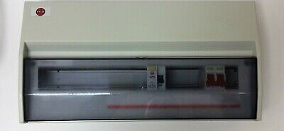 Wylex Consumer Unit 17 Way Split Load Flexi With 8 Mcbs
