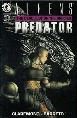 "Comic Dark Horse ""Aliens vs Predator: The Deadliest of the Species'' #9 1994 NM"