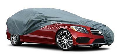 MERCEDES C-Class Saloon (07-14) PREMIUM Water Resistant Breathable CAR COVER