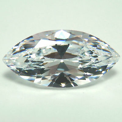 1Ct Marquise Cut D Color My Russian Diamond Simulated Lab Created Loose Gemstone