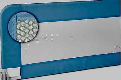 Adult-Child Bed Safety Bedside Guard Gate Screen blue - as new