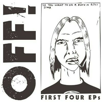 First Four Eps (7 Box Set) - 4 DISC SET - Off! (2010, Vinyl New) 7 Inch