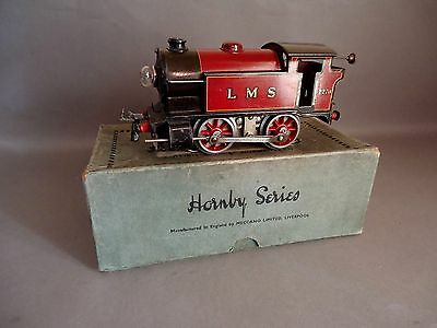 1934 Hornby Series O gauge electric 6 volt M3 LMS Tank Loco,original boxed.