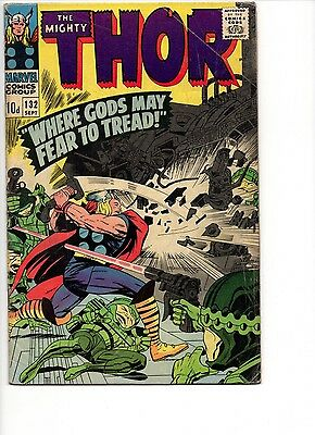 Thor #132 1966 1st Ego the Living Planet - Guardians of the Galaxy Vol. 2
