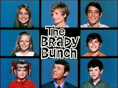1970s The Brady Bunch TV Show logo magnet - new!