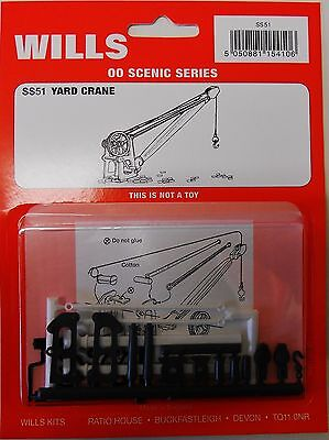 Wills SS51. Goods Yard Crane - New. (00 Gauge)