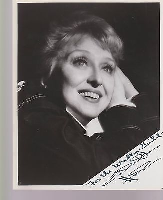 "CELESTE HOLM-`Gentleman's Agreement, Come To The Stable"" etc Signed 8x10 pic"