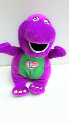 Barney Singing Soft Toy ***PRE-OWNED***