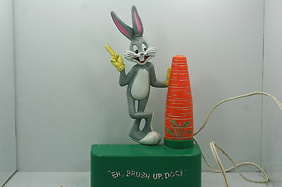 Vintage 1973 Bugs Bunny Battery Powered Toothbrush - Works!!