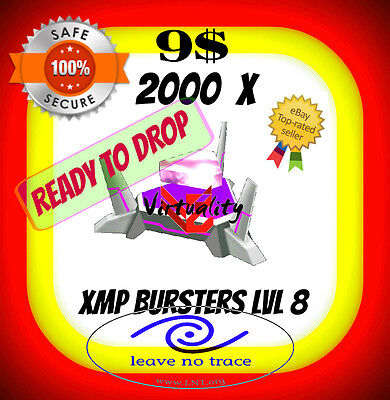 INGRESS 2000 BURSTER XMP8 L8 LVL8 INSTANT DELIVERY PAY 2 GET 3 option 100% safe