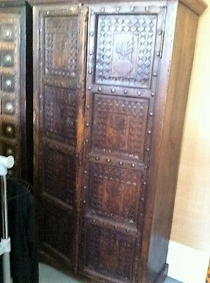 Antique Indian Cabinet b