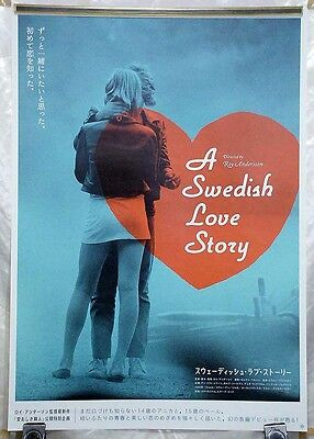 A SWEDISH LOVE STORY(2008R)Japanese Movie POSTER