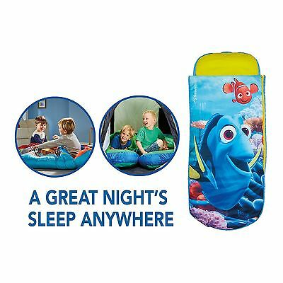 Finding Dory Nemo Junior Ready Bed Sleepover Solution Includes Foot Pump New