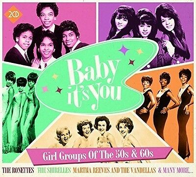 Baby It's You: Girl - Baby It's You: Girl Groups of the 50S & 60S [New CD]