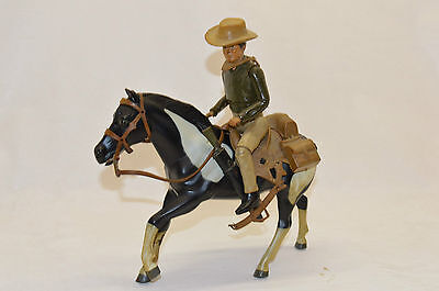 Bonanza Figur - Joe Cartwright mit Pferd/g2