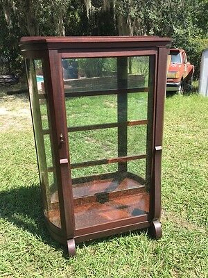 Empire Large China Cabinet  Mahogany Curio Cabinet Truly Breath Taking