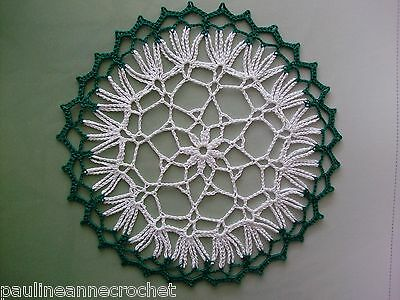 Crochet Doily, PaulineAnneCrochet Small, Lacy