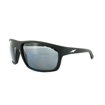 6d6a1657f7 ARNETTE SUNGLASSES FASTBALL 4202 447/81 Fuzzy Black Grey Polarized ...