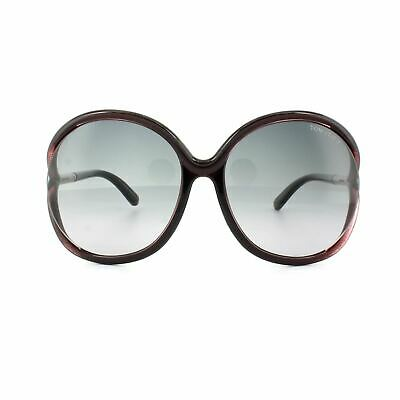 5cc1f05c3e8 Tom Ford Sunglasses 0252 Rhi 05B Dark Plum Grey Gradient