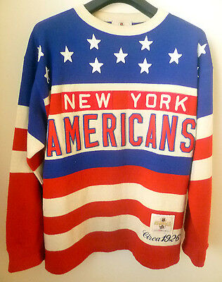 Rare Vintage NEW YORK Americans CCM Heritage NHL Hockey Jersey