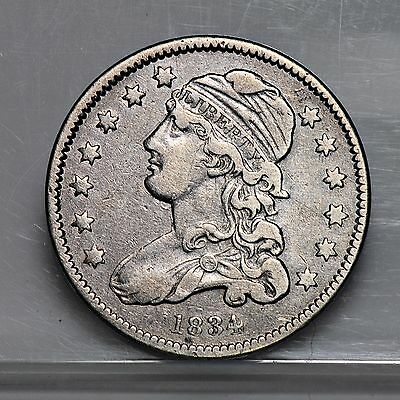 1834 Capped Bust Quarter - XF (#2880)