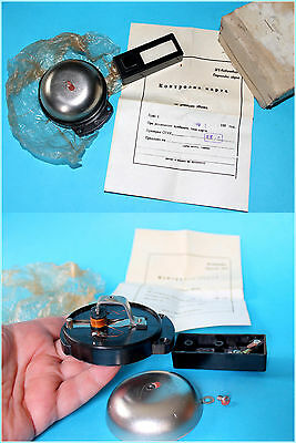 Vintage Bulgarian Bakelite Electric Door Bell & Bell Push,Box,Instruction 1980's
