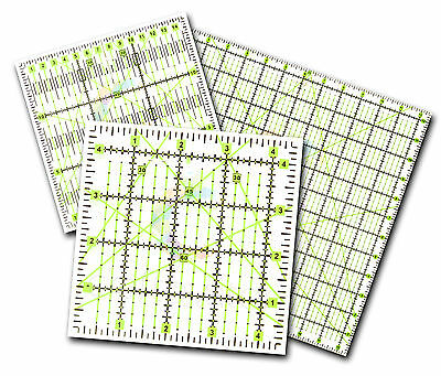 Quilting Patchwork Ruler Premium Rotary Rectangle Square Triangle ALL SIZES