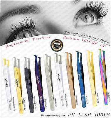Russian VOLUME 75deg, EyeLash Extension Tweezers