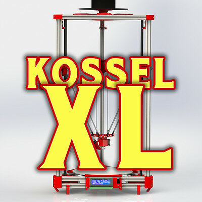 Zollfrei! 3D Drucker Printer Kossel XL Heated bed RepRap Rostock Delta DIY