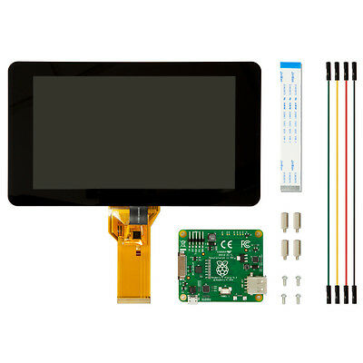 "RASPBERRYPI-DISPLAY  Raspberry Pi 7"" Touch Screen Display with 10 finger touch"