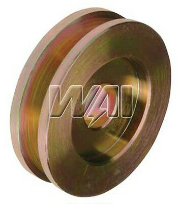 *NEW* Solid 1V Single Groove Pulley for Delco & Ford Alternators