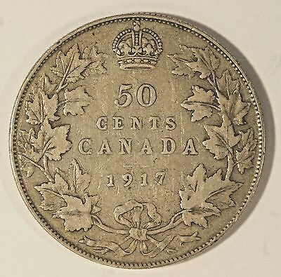 1917 50C Canada 50 Cents