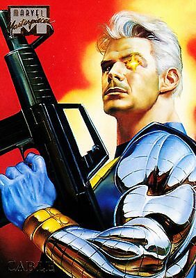 1996 Marvel Masterpieces #06 Cable NM - Combo Shipping Discounts