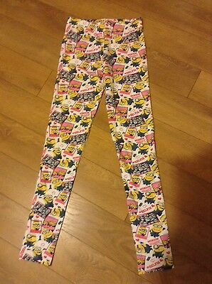 Girls Despicable ME leggings age 12/13 Yrs