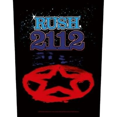 Rush BACK PATCH New Official 2112