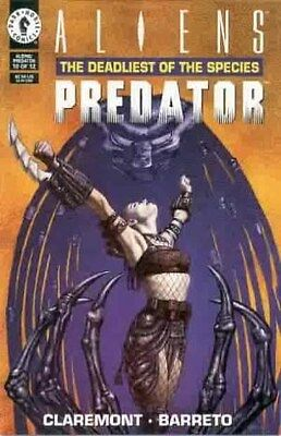 "Comic Dark Horse ""Aliens vs Predator: The Deadliest of the Species'' #10 1994 NM"