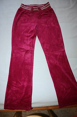 BNWT Pink Velour Tracksuit pants, 10yrs, mint condition