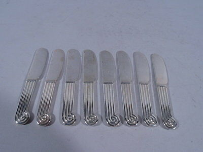 Christofle Knives - Pâté Pate Butter Spreaders - French Silverplate Silver Plate